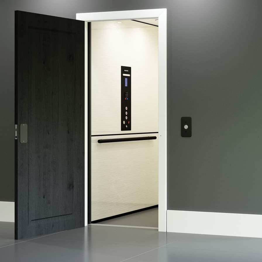 Savaria Zenith Ultimate Black Package Home Elevator