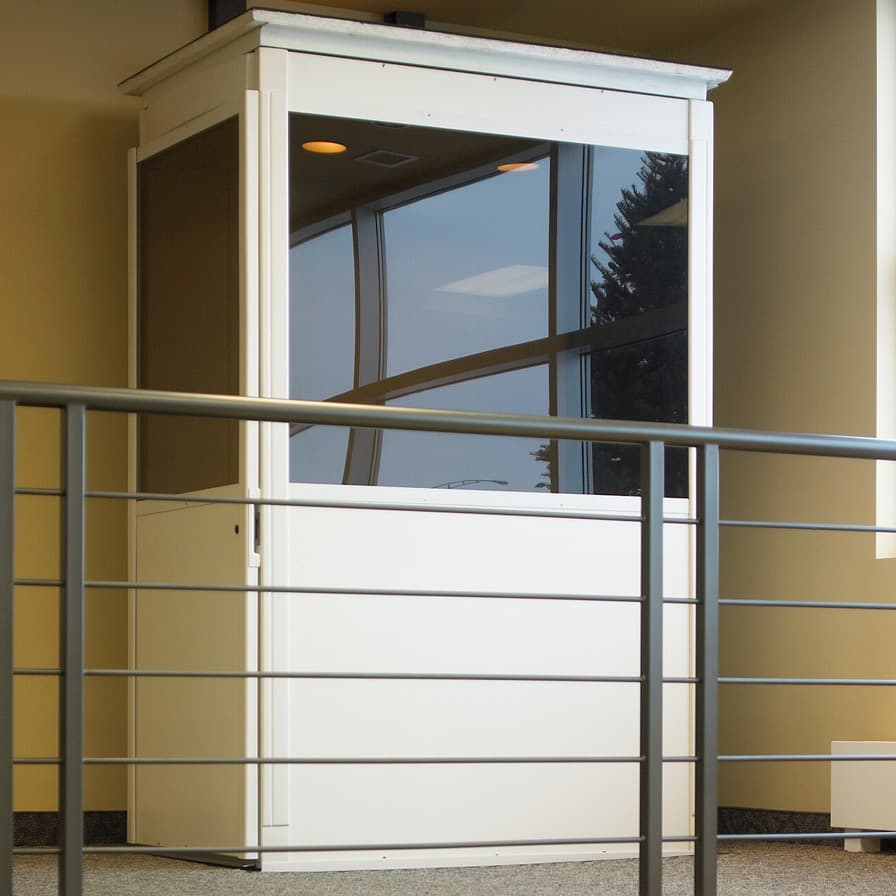 Savaria Telecab Home Elevator and Railing