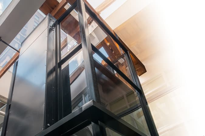 Savaria Enclosed Vertical Platform Lift